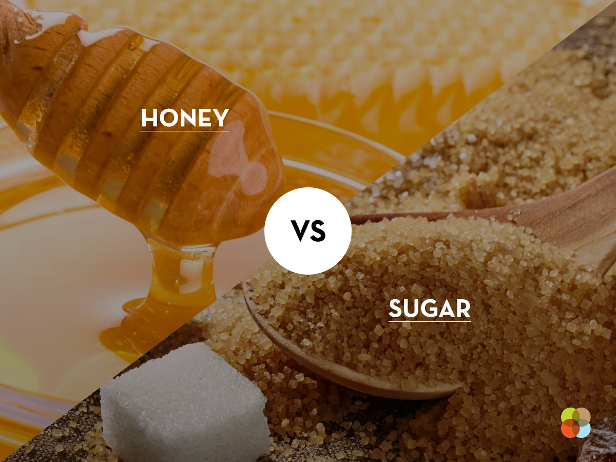 Honey vs. sugar
