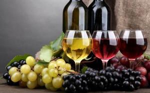 Κρασί και σταφύλια